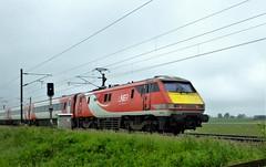 LNER class 91 . (steven.barker57) Tags: lner class 91 91102 city york bradbury hst inter 225 passenger electric train trains north east england uk
