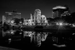 Hiroshima - Genbaku Dome (-dow-) Tags: genbakudome giappone hiroshima japan 日本 原爆ドーム 広島 monochrome fujifilm x70