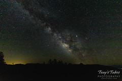 June 24, 2019 - The Milky Way in San Isabel National Forest. (Tony's Takes)
