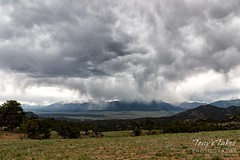 June 21, 2019 - Storms roll across the Collegiate Peaks near Buena Vista. (Tony's Takes)