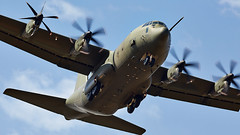 C-130J Hercules (Bernie Condon) Tags: hercules c130j raf royalairforce transport cargo parachute military airlift herc aircraft plane flying aviation
