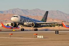 Frontier Airlines - Airbus A319-100 - N926FR - Domino - McCarran International Airport (LAS) - Las Vegas - September 23, 2013 2 971 RT CRP (TVL1970) Tags: nikon nikond90 d90 nikongp1 gp1 geotagged nikkor70300mmvr 70300mmvr aviation airplane aircraft airliners mccarraninternationalairport mccarranairport mccarran mccarraninternational lasvegas las klas n926fr frontierairlines frontier dominotheblacktaildeerfawn domino airbus airbusindustrie airbusa319 airbusa319100 a319 a319100 airbusa319111 a319111 airbusa319112 a319112 cfminternational cfmi cfm56 cfm565b5p cfm565b6p tiresmoke