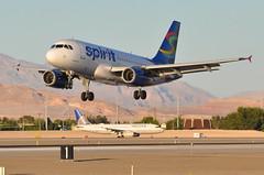 Spirit Airlines - Airbus A319-100 - N521NK - McCarran International Airport (LAS) - Las Vegas - September 23, 2013 2 988 RT CRP (TVL1970) Tags: nikon nikond90 d90 nikongp1 gp1 geotagged nikkor70300mmvr 70300mmvr aviation airplane aircraft airliners mccarraninternationalairport mccarranairport mccarran mccarraninternational lasvegas las klas n521nk spiritairlines spirit pkrmh mandalaairlines n611lf ilfc eiesg windjet aercap n887ua unitedairlines united ual airbus airbusindustrie airbusa319 airbusa319100 a319100 airbusa319132 a319132 a319 internationalaeroengines iae iaev2500 v2500 v2524 v2524a5 n483ua ted airbusa320 airbusa320200 airbusa320232 a320 a320200 a320232 v2527 v2527a5