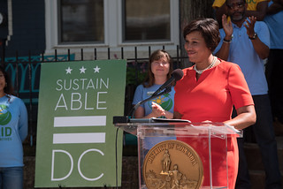 April 23, 2019 MMB Celebrated the 100th Installation of Solar Works DC as DC Leads in Sustainability and Climate Action