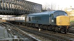 c.05/1985 - Holgate Junction, York. (53A Models) Tags: britishrail sulzer type4 peak class45 45136 diesel passenger holgatejunction york train railway locomotive railroad