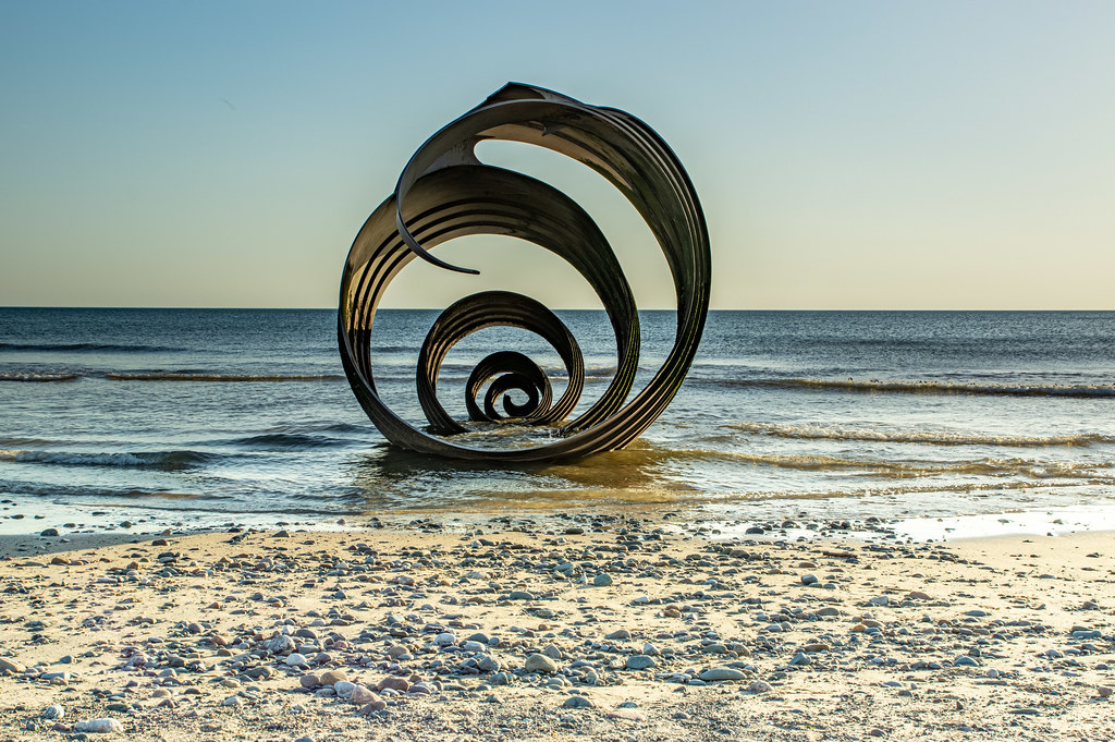 Cleveleys sunset June 2019-1