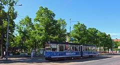 Estonia - Tallinn tram (onewayticket) Tags: tram transport urban tlt tatra kt4tmr tatrakt4tmr street tallinn estonia