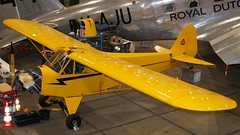 Piper J-3 Cub in Lelystad (J.Comstedt) Tags: aircraft aviation air aeroplane museum airplane flight johnny comstedt netherlands aviodrome lelystad piper j3 cub n16623