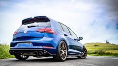 VW Golf R MK7.5 (@MouldyPIX) Tags: wheels exhaust modified tuned stage2 racingline hothatch cars blue lapiz rse102 neuspeed remus dsg r golf vw lighthouse
