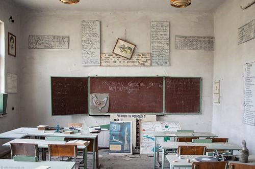 school, Tschernobyl.