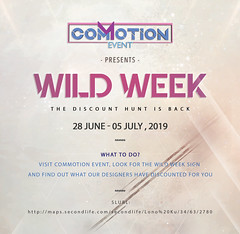 WILD WEEK June 2019 (Colbie Hill (Commotion Event)) Tags: commotionevent wildweek ww discount hunt