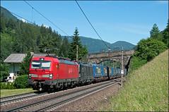 193 341, Wolf am Brenner (A), 24/06/19 (bontybermo402) Tags: brennero am wolf brenner deutschebahn db siemens vectron 193341