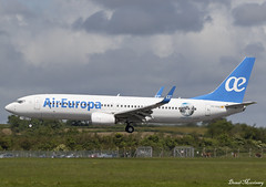 "Air Europa ""Argentina Cataratas del Iguazú"" 737-800 EC-MJU (birrlad) Tags: shannon snn international airport ireland aircraft aviation airplane airplanes airline airliner airlines airways arrival arriving approach finals landing runway aireuropa boeing b737 b738 737 737800 73785p ecmju special decals titles argentinacataratasdeliguazú"