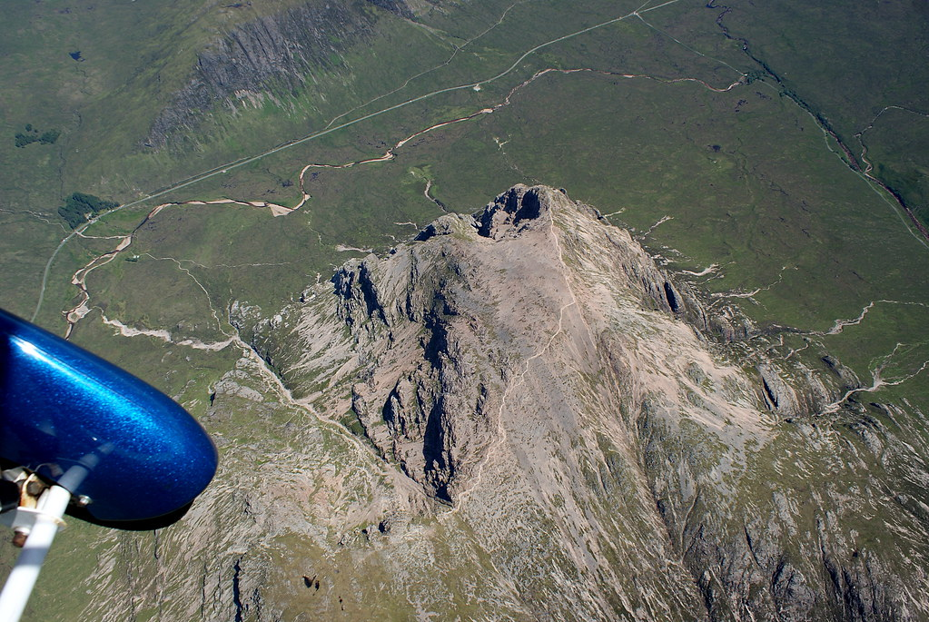 Coire na Tulaich (the tourist route) up Stob Dearg