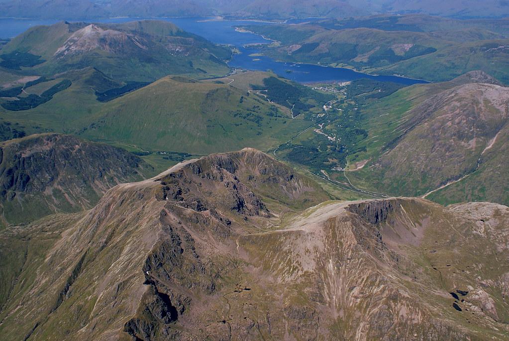 Bidean and over towards Loch Linnie