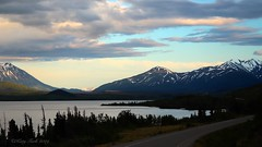 Dáas'ediyaash (Tlingit) Dezadeash Lake (Katy on the Tundra) Tags: dáas'ediyaash dezadeashlake haineshighway yukon canada