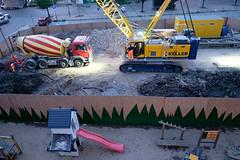 . (zbrzozowski) Tags: ulica fotografiauliczna street streetphoto streetphotography warsaw warszawa construction playground