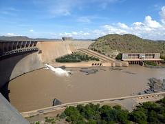 Gariep Dam Wall (Proteus_XYZ) Tags: southafrica freestate karoo gariepdam damwall staumauer orangeriver