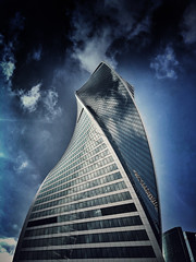 #Moscow #City #dark #Sky (NO PHOTOGRAPHER) Tags: hochhaus gebäude cityscape skyline detail construction blackandwhite monochrome architectural urban building outdoor architecture iphoneography iphonephotography exterier russia moscowcity technoart sky clouds moscowphotography blue panorama panoramatic light shade dark shadow city geometric lookingup window skycraper skycrapers aboutlove analogy freestyle fineart blackandwhitephoto monochromephotography москвасити hochhauspanorama москва россия архитектура строительство река