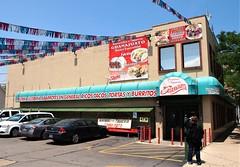 Carnicerias Guonajuato (Brule Laker) Tags: chicago illinois wickerpark mexico grocery tacos burritos tortas