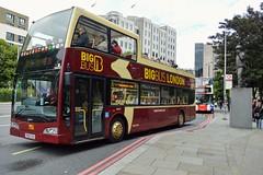 DA213 PN09EOB (PD3.) Tags: volvo east lancs da213 da 213 pn09eob pn09 eob big bigbus london bus buses england uk sight seeing sightseeing open top topper topless tour tourbus