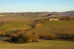Campagna della Val d'Orcia (Darea62) Tags: landscape countryside farmhouse nature fields paesaggio valdorcia toscana sanquiricodorcia