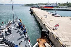 "USS Pioneer arrives in Kota Kinabalu (#PACOM) Tags: usspioneermcm9 minecountermeasure malaysia avengerclass kotakinabalu portvisit usindopacificcommand ""usindopacom"