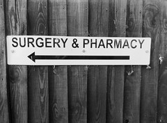Surgery & Pharmacy Willingham June 2019 (Uncle Money UK) Tags: surgery pharmacy black white blackandwhite willingham june 2019
