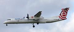 DHC-8 | SP-EQB | AMS | 20140813 (Wally.H) Tags: bombardier dehavillandcanada dhc8 dash8 speqb eurolot ams eham amsterdam schiphol airport