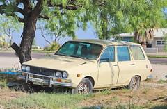 Renault 12 Wagon in Fort Stockton TX 5.5.2019 0733 (orangevolvobusdriver4u) Tags: auto usa classic car america wagon texas estate roadtrip renault oldtimer 12 amerika kombi fortstockton renault12 2019 klassik r12 fortstocktontx archiv2019 renault12wagon
