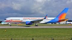 G-LSAK (AnDyMHoLdEn) Tags: jet2 757 egcc airport manchester manchesterairport 23l