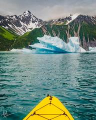 My very own Titanic moment (ashpmk) Tags: alaska seward sewardalaska kayak adventure travel travelphoto canon canon5dmarkiv canon5dmark4 sigma2470 sigma mountain mountains usa