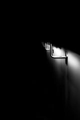 Chasing Lights II (Isengardt) Tags: chase light jagd jagen lichter rail geländer beleuchtet grafisch graphical negativespace negativerraum simple einfach minimal minimalistisch dark dunkel schatten shadow finster esslingen badenwürttemberg deutschland germany europe europa canon eos 550d 50mm