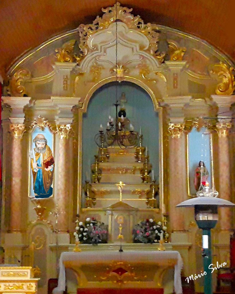 Águas Frias (Chaves) - ... s. Pedro - orago da Aldeia (Igreja matriz)