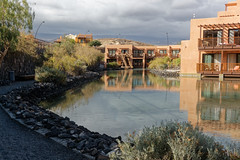 Sandos San Blas Hotel, Tenerife, Canary Islands (wildhareuk) Tags: canaryislands canon canoneos500d hotel lake spain tamron18270mm tenerife tenerife2019 water building path sandossanblas tamron img9313dxo