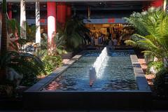 Siam Mall, Costa Adeje, Tenerife, Canary Islands (wildhareuk) Tags: canaryislands canon canoneos500d costaadeje fountain shoppingcentre spain tamron18270mm tenerife tenerife2019 water tamron img9439dxo