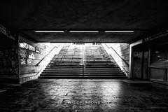 Under (TheWildFireOne) Tags: seedy underground metro italy street genoa empty mono dark streetphotography underpass blackwhite transport