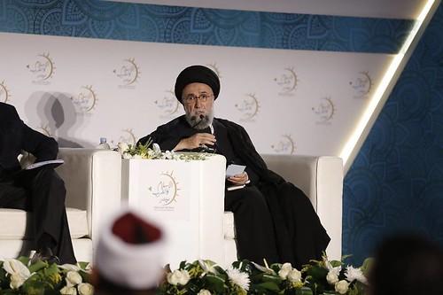 السيد علي الامين - مجلس حكماء المسلمين - الاسلام والغرب 1