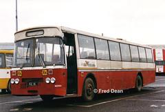 Bus Eireann MGS92 (92IK). (Fred Dean Jnr) Tags: buseireann broadstone leyland leopard psu54r cie mslm92 mg92 mgs92 ik d 92ik broadstonegaragedublin february1999 dublin schoolbus busscoile