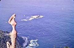 """""""Guanabara Mitológica"""" (moacirdsp) Tags: """"guanabara mitológica"""" by remo bernucci pão de açúcar sugar loaf mountain urca rio janeiro rj brasil 1984"""