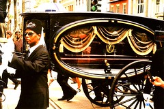 Hearse Carrying Dr. John (bongo najja) Tags: