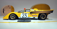 Modena - Museo Ferrari - 512 M 1970 (Bardazzi Luca) Tags: automobile car macchina corsa race luca bardazzi italy italie italia desktop wallpapers image olympus em10 micro four thirds 43 foto flickr photo picture internet web formula sport prototipi yellow giallo 23