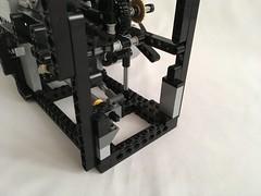Lego GBC Offset Gears Module (sawyer's lego creations) Tags: lego gbc technic module