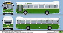 Leyland National Green Line (routemaster2345) Tags: snc168 snc 168 leyland national coach 103m mk1 hpf318n hpf 318n london country green line