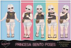 { Bellybean } Princesa Bento Poses AD (Bella Parker) Tags: bellybean toddleedoo secondlife sl slevent slfamily slrelease slpose slbento bento bentopose td tdevent tdposes tdpose family familypose toddler kid