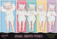 { Bellybean } Jewel Bento Poses AD (Bella Parker) Tags: bellybean toddleedoo secondlife sl slevent slfamily slrelease slpose slbento bento bentopose td tdevent tdposes tdpose family familypose toddler kid