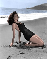 Ava Gardner (thomasgorman1) Tags: photo vintage gardner hollywood retro star swimwear nostalgia classic beauty photography 1940s