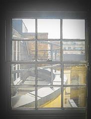 The Rooftops (Steve Taylor (Photography)) Tags: railing architecture roof window uk gb england greatbritain unitedkingdom london 25brookstreet brookstreet flat