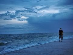 #dusk #twilight #beachwalks #solitude #sanibelisland #blueskies #blue #minimalism #olympusinspired #mirrorlessphotography #microfourthirdsgallery #indigo @tomllama1959 #oceanphotography #sealife #waves #cloudscape (Sivyaleah (Elora)) Tags: sanibel island florida sunset cloud beach ocean sea waves blue olympus penf mirrorless micro fourthirds solitary vacation june 2019