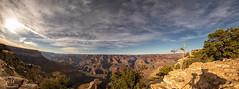 Night or day at the Grand Canyon (Michael Seeley) Tags: arizona canon desertviewwatchtower grandcanyon grandcanyonnationalpark landscape mikeseeley sunset yavapaipoint